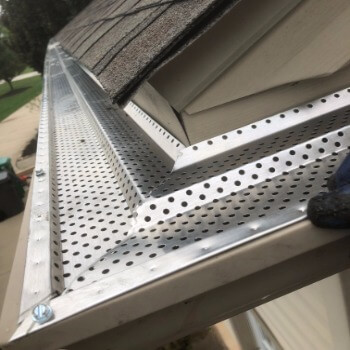 Gutter Guard Installation in Cleveland Ohio