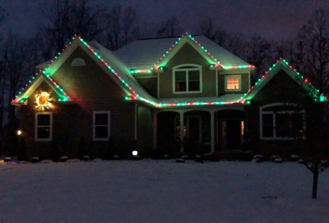Basic Christmas and Holiday Light Installation Services in Lake County Ohio