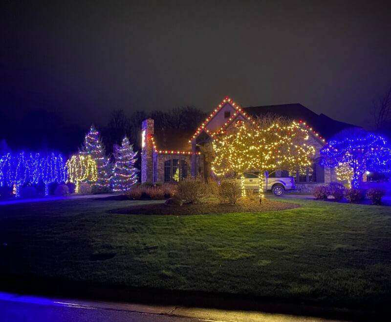 Holiday Light Installation Company Near Cleveland Ohio