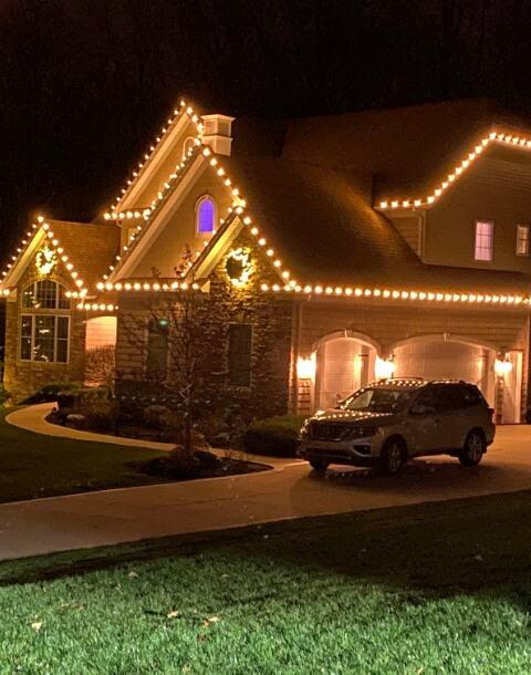 Christmas Light Installation Services near Cleveland Ohio